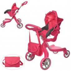 Прогулочная коляска для кукол 2в1 Melogo 9631
