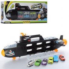 Игровой набор Подводная лодка-гараж P864-A