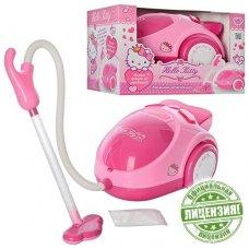 Пылесос игровой Hello Kitty со звуковыми и световыми эффектами HK 00038 R