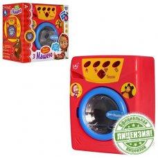 Стиральная машинка игрушечная со звуковыми и световыми эффектами MM 0103