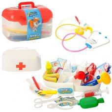 Игровой набор Доктора в чемодане, 34 предмета, LIMO TOY M 0460 U/R