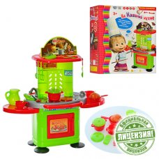 """Детский игровой набор - Кухня """"На Машиной кухне"""" MM 0077"""