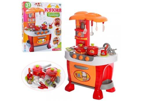 Детская кухня с музыкальными и световыми эффектами 008-801A, высота 73см