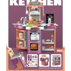 Детская кухня с водой и паром, 49 предметов, Bambi 14P05