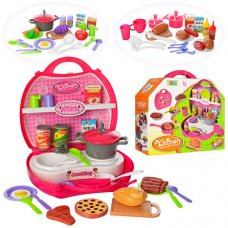 Детский игровой набор - Кухня-чемоданчик 8336ABC
