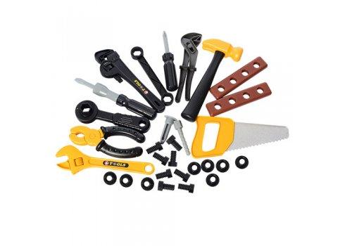 Игровой набор инструментов с верстаком, 50 предметов, Bambi 008-912