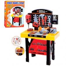 Набор игровой верстак с инструментами 35 деталей Limo Toy M 0447 U/R/1896