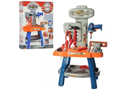 Игровой набор инструментов с верстаком 28 деталей Bambi 16701B