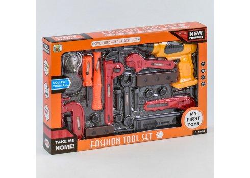 Детский игровой набор инструментов 22 элемента 36778-77