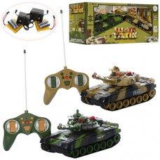 Игровой набор танков на радиоуправлении 9993-2PC