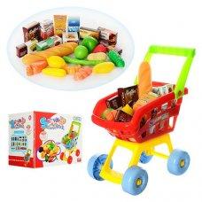 Супермаркет, тележка с продуктами, 23001A