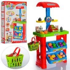 Игровой набор Супермаркет (магазин) с корзиной и весами, высота 82см, 661-79