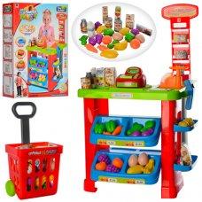 Игровой набор Супермаркет (магазин) с тележкой, высота 81см, 661-80