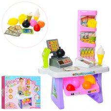Игровой набор Супермаркет (магазин) 47 предметов, высота 86см, 666-136