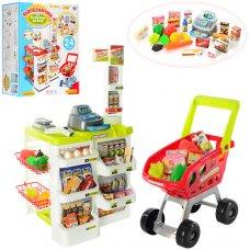 Игровой набор Супермаркет (магазин), касса и тележка Limo Toy 668-01-03