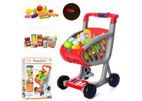 Игровой набор супермаркет с тележкой 41 элемент 922-76