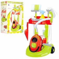 Детский игровой набор для уборки Cleaning Set с пылесосом XS14066