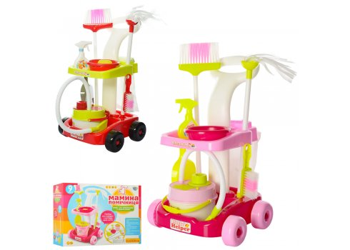 """Детский игровой набор для уборки """"Маленькая помощница"""" Limo Toy 667-34-36"""