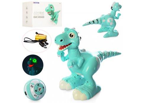 Робот динозавр интерактивный с паром 908B