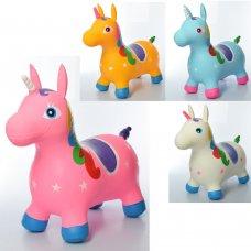 Прыгуны-лошадки, надувные животные Единорог MS 1336