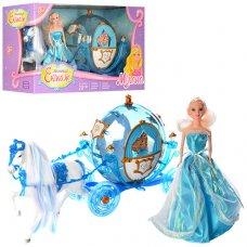 Карета с лошадью и куклой 218A