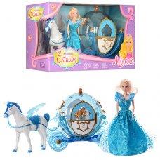 Карета с лошадью и куклой 219A