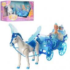 Карета с лошадью и куклой 227A