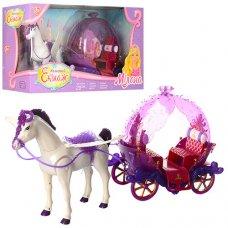 Карета с лошадью (ходит) и звуковыми эффектами 234B