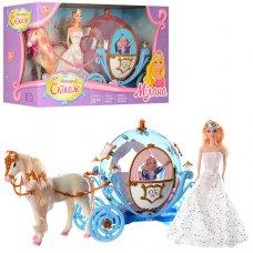 Карета с лошадью и куклой 28911 B