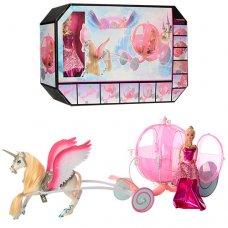 Карета с лошадью и куклой 68019