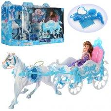 Карета с лошадью и куклой 689Y-2