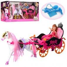 Карета с лошадью и куклой 689Y