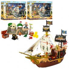 Корабль пиратов 37892ABC