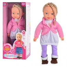 Интерактивная кукла Сонечка, говорит более 1000 слов, M 1260 U/R