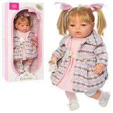 Кукла Berbesa 42 см, мягконабивная, 4305