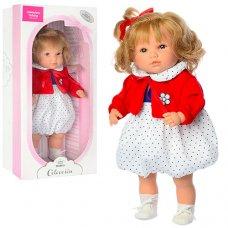 Кукла Berbesa 42 см, мягконабиваня, 4412