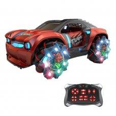 Радиоуправляемая трюковая машинка-перевертыш ZEGAN Сrazy Drift 1:16 ZG-C1432 красный