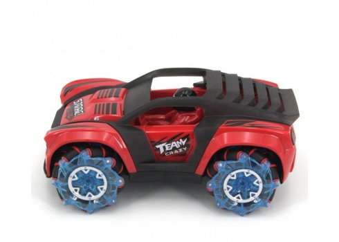 Радиоуправляемая трюковая машинка-перевертыш ZEGAN Сrazy Drift 1:16 ZG-C1432 синий