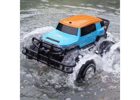 Машина-амфибия на радиоуправлении внедорожник Toyota Cruiser YED1601