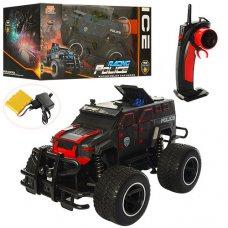 Полицейская машинка-джип на резиновых колесах 666-630QMA