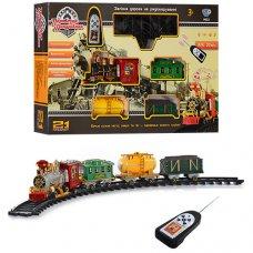 Детская железная дорога на радио пульте 0622/40353 Классический экспресс, длина путей 5,5 м