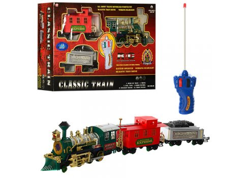 Детская железная дорога на радио пульте - 46 Classic Train