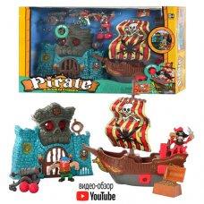 "Игрушка пиратский корабль Keenway ""Приключения пиратов Битва за остров"" 10763"