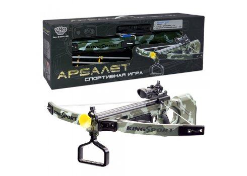 Игрушечный арбалет винтовочного типа  с лазерным прицелом King Sport, M 0004 U/R