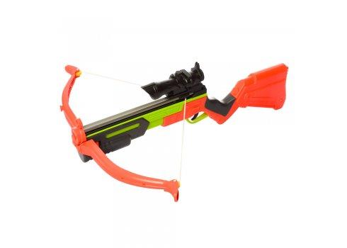 Игрушечный арбалет винтовочного типа  с лазерным прицелом Стрелок, M 3546