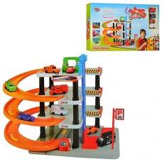 Четырехэтажная парковка-гараж с машинками Play Smart 0849