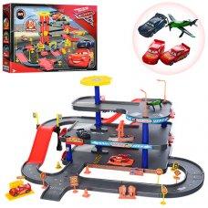 Детский автотрек Тачки с машинками P63-6699