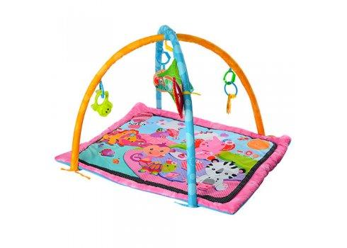 Развивающий коврик для младенца  и дуга с подвесками, 023-45-46