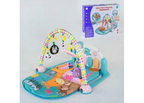 Детский игровой коврик YL - 604 с музыкальной панелью