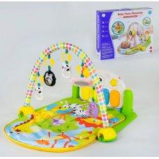 Детский игровой коврик YL - 605 с музыкальной панелью